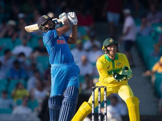 India vs Australia 1st ODI : रोहित शर्माचे शतक व्यर्थ, भारताचा 34 धावांनी पराभव | India vs Australia 1st ODI : रोहित शर्माचे शतक व्यर्थ, भारताचा 34 धावांनी पराभव