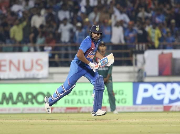 India vs Bangladesh, 2nd T20I : Hitman Rohit Sharma's Show; Team India beat Bangladesh by 8 wickets, equal series 1-1 | India vs Bangladesh, 2nd T20I : 'महा' नव्हे, तर रोहित शर्माचं चक्रीवादळ घोंगावलं, टीम इंडियाची मालिकेत बरोबरी