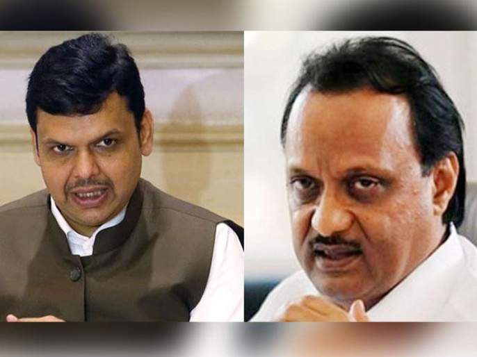 Ajit Pawar-Fadnavis cross talk in the Maharashtra assembly | अजित पवार- फडणवीस यांच्यात भर विधानसभेत जुंपली