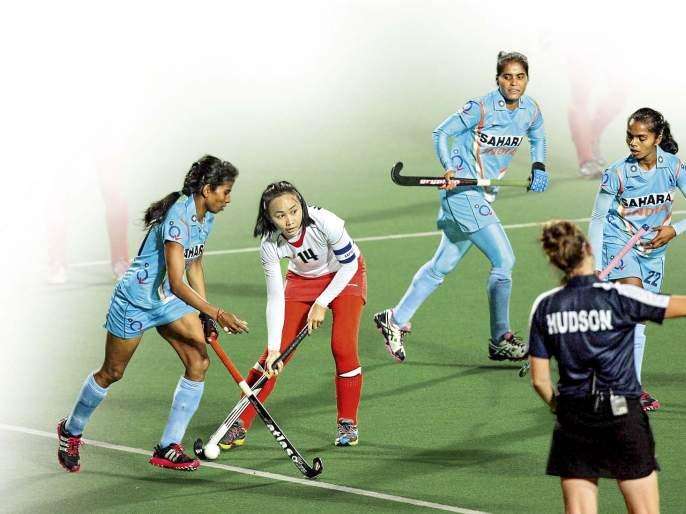 Indian women Hockey Team is ready for Tokyo Olympic 2020, watch it   राणीची हॉकी टीम 'ते' स्वप्नपूर्ण करेल?