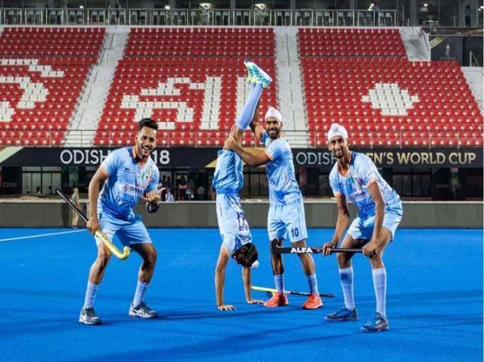 Hockey World Cup 2018: India will face belgium in group C match | Hockey World Cup 2018 : भारताला थेट उपांत्यपूर्व फेरीत प्रवेश मिळवण्याची संधी