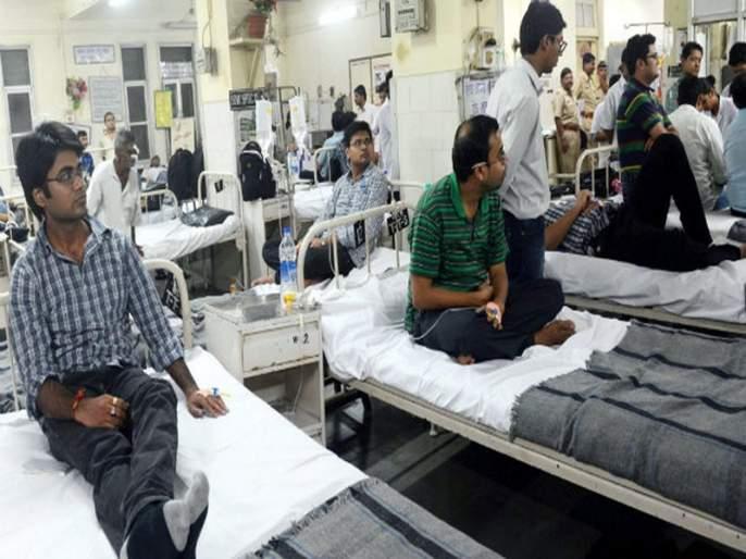 Gastro patients grew in Mumbai, in 1,224 cases in two months | मुंबईत गॅस्ट्रोचे रुग्ण वाढले, दोन महिन्यांत १,२४४ रुग्ण