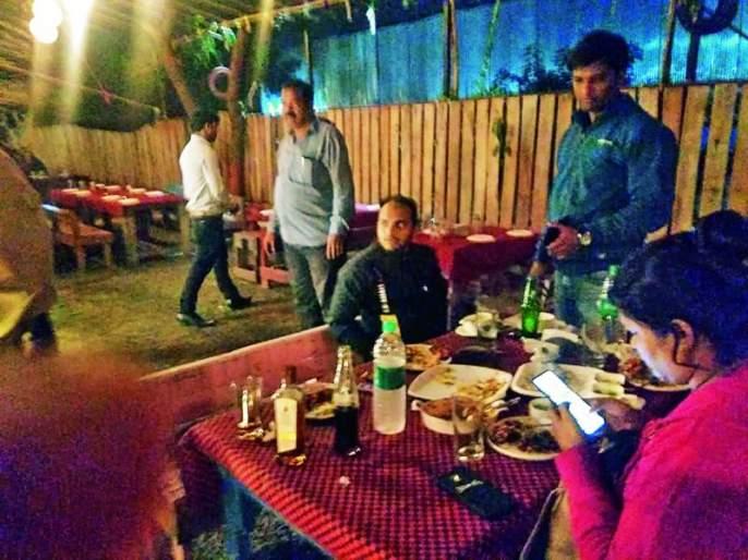 Raid at Food Garage, The Jailer Kitchen and Delhi Durbar in Nagpur | नागपुरातील फूड गॅरेज, द जेलर किचन आणि दिल्ली दरबारमध्ये छापे