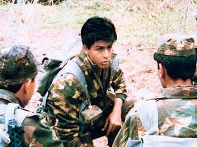 Shahrukh Khan wants to once again acknowledge the role of the military, expressed on 'Dance + 2' stage | शाहरूख खानला पुन्हा एकदा साकारायची आहे 'फौजी'ची भूमिका, 'डान्स +५'च्या मंचावर व्यक्त केली इच्छा
