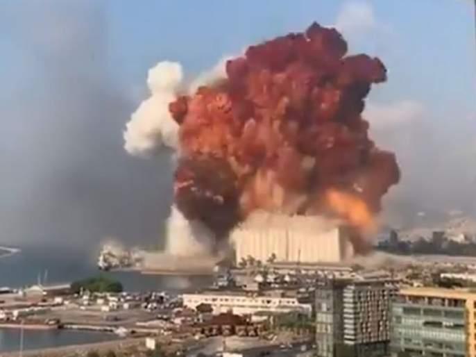 Beirut Blast: 78 killed in Beirut blast; 4000 injured   Beirut Blast: बैरुत स्फोटात 78 जणांचा मृत्यू, 4000 जखमी; आरोग्य मंत्र्यांची माहिती