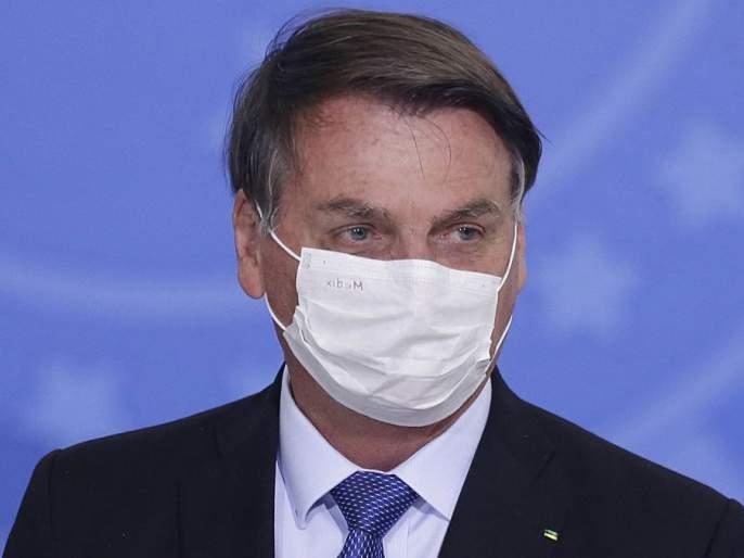 Corona report of Brazilian President Bolsonaro positive, omar abdullah   राष्ट्रपती बोलसोनारो यांचा कोरोना अहवाल पॉझिटीव्ह, ओमर अब्दुल्ला म्हणतात...