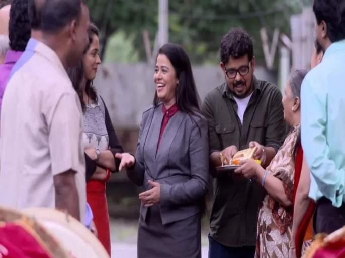 New twist in Mazya Navaryachi Bayko serial | 'माझ्या नवऱ्याची बायको'मध्ये नवीन ट्विस्ट, सौमित्रला लग्नासाठी राधिका देणार होकार