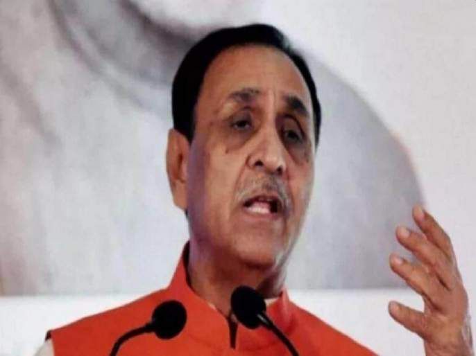"""There is no lockdown as the CM's son is getting married""; Vijay Rupani explanation on viral massage | ""मुख्यमंत्र्याच्या मुलाचं लग्न असल्यानं लॉकडाऊन नाही""; व्हायरल मेसेजवर विजय रुपाणींचं स्पष्टीकरण"