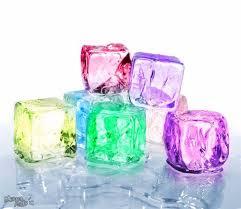 Make an ice qubes at home, stay at home activity | घरच्या घरी बर्फाचा गोळा बनवा , गोळा तोच आकार नवा
