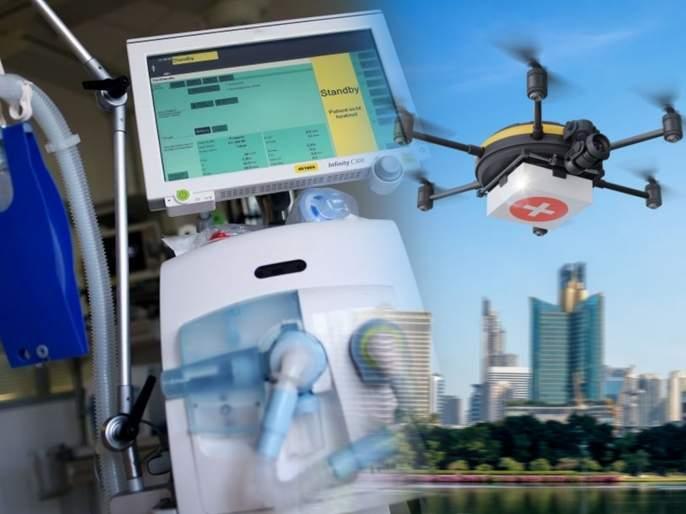 Coronavirus: Low-cost test kits, digital stethoscopes, santising drones: IIT innovations | IITची पोरं हुश्शार... कोरोनाशी लढाईसाठी स्वस्त टेस्ट किट, पोर्टेबल व्हेंटिलेटर, ड्रोन तय्यार!