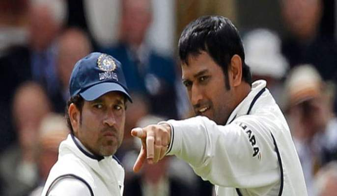 Sachin Tendulkar will play in future decision was taken by ms Dhoni in 2012   सचिनच्या भविष्याचा निर्णय धोनीने २०१२ सालीच घेतला होता