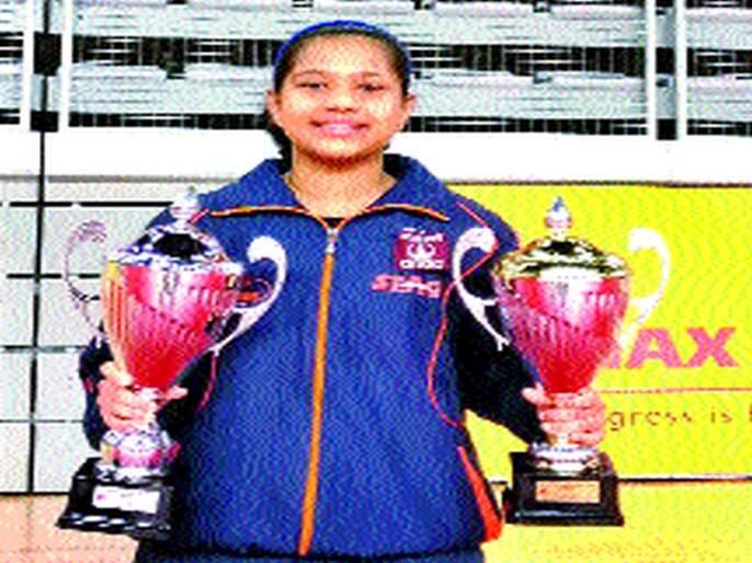 Mumumbar Diana won two bronze, Croatia Jew The only Indian in the Tete competition   मुंबईकर दियाने जिंकले दोन कांस्य, क्रोएशिया ज्यु. टेटे स्पर्धेत एकमेव भारतीय