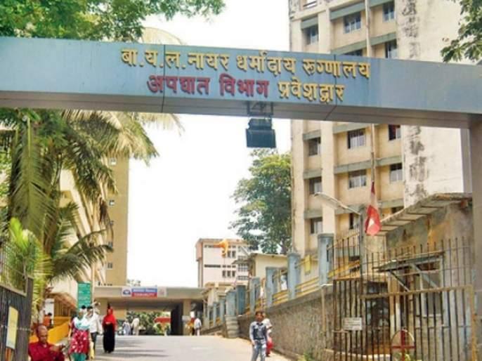 Special ambulance base at Nair Hospital for Kovid patients   कोविड रुग्णांसाठी नायर रुग्णालयात विशेष रुग्णवाहिका तळ