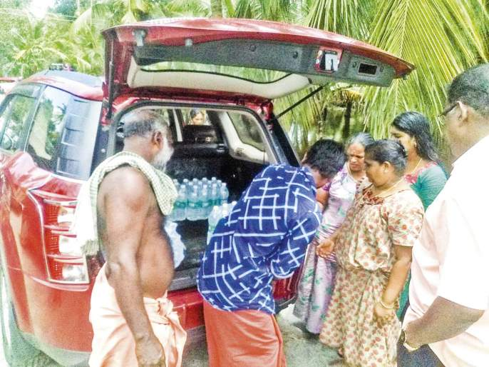 Kerala Flood Experience   घोटभर पिण्याच्या पाण्यासाठी तरसणारं केरळचं पाणी