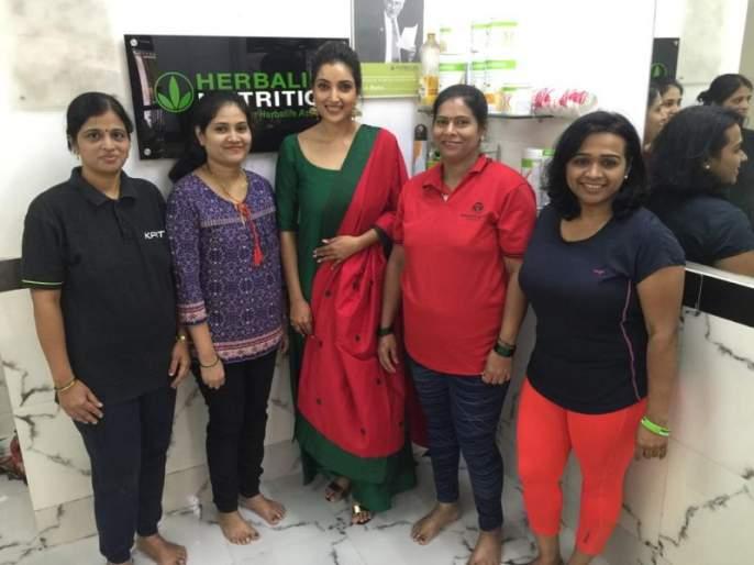 Women's Day Special: Rupali Bhosale gave health tips to the housewives | Women's Day Special : रुपाली भोसलेने गृहिणींना दिले आरोग्यवर्धक सल्ले