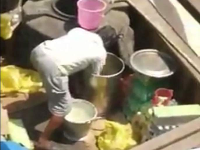 Revealed reality of lemon juice seller after removing the roof | धक्कादायक...कुर्ला रेल्वे स्थानकावरील छप्पर काढल्याने लिंबू सरबतवाल्यांचे फुटले बिंग