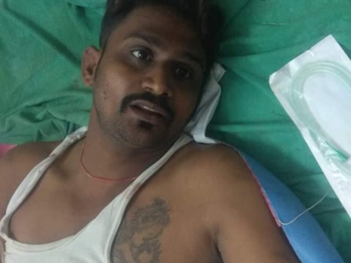 Sword attack on youth in Bhusawal | भुसावळात तरूणावर तलवार हल्ला