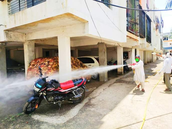 CoronaVirus: Caution! Home Quarantine for 110 residents of Shashi Vihar colony of Paithan   CoronaVirus : खबरदारी ! पैठणच्या शशी विहार वसाहतीतील ११० रहिवाशी होम क्वारंटाईन