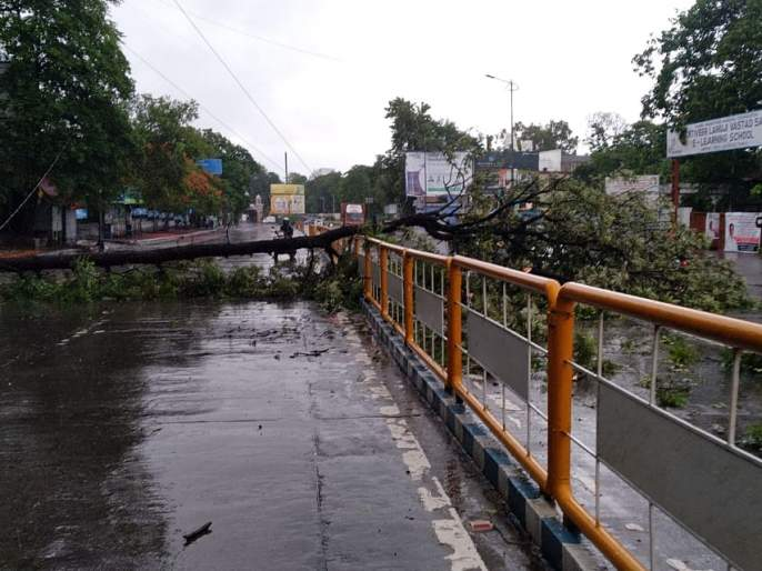 Heavy Rainfall in Yerwada   येरवड्यात पावसाने उडवली दाणादाण, प्रशासन आणि नागरिकांची उडाली धांदल