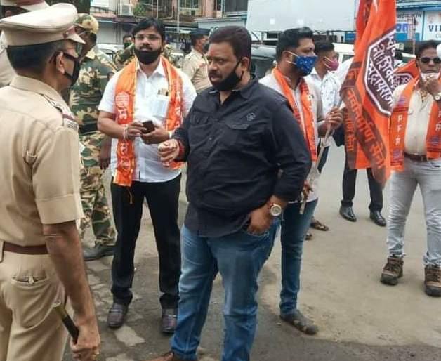 Crime filed against 21 Mansainiks in Bhayander | भाईंदरमध्ये २१ मनसैनिकांवर गुन्हा दाखल
