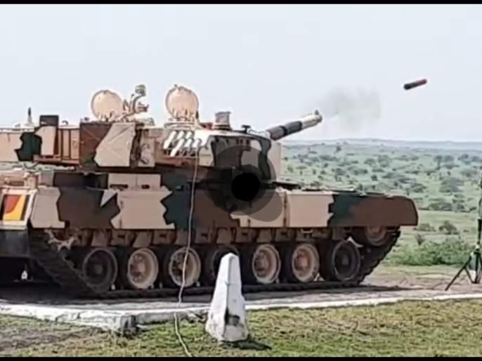 'Laser guided' anti-tank missile test successful: long-range targets can be destroyed   'लेझर गायडेड' रणगाडाभेदी क्षेपणास्त्राची चाचणी यशस्वी : लांब पल्ल्याचे लक्ष्य करता येणार नष्ट