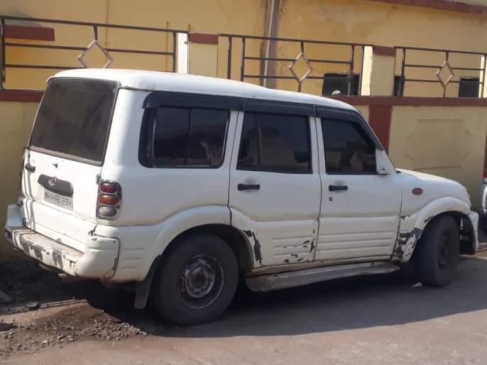Transport of village liquor by Scorpio vehicle; Police seized worth Rs 4 lakh 59,500 materials | स्कॉर्पिओ गाडीतून गावठी दारूची वाहतूक; पोलिसांकडून ४ लाख ५९ हजार ५०० रूपये किमतीचा मुद्देमाल जप्त