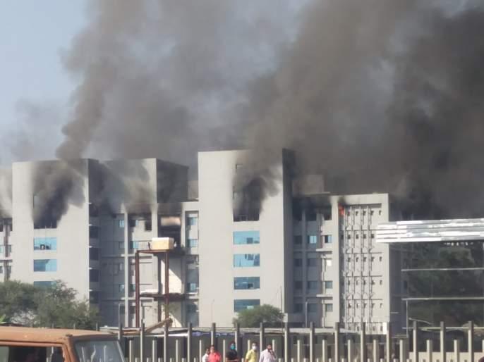: Serum Institute Fire 'Covishield' vaccine safe; The fire did not cause any casualties; Information of Adar Poonawala | 'सिरम'मधून दिलासादायक बातमी : 'कोविशिल्ड' लस सुरक्षित; आगीत कुठलीही जीवितहानी नाही