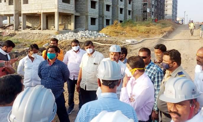 Big news; Lottery of 892 houses of Pandharpur Prime Minister's Housing Scheme canceled | मोठी बातमी; पंढरपुरातील पंतप्रधान आवास योजनेच्या८९२ घरांची लॉटरी सोडत रद्द