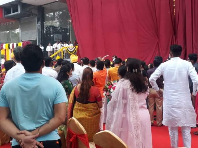 Restrictions on Shiv Jayanti Then the presence of BJP leaders. MNS aggressive | शिवजयंतीवर निर्बंध, मग भाजप नेत्यांची उपस्थिती अन् ढोल- ताशांचे कार्यक्रम कसे? मनसे आक्रमक