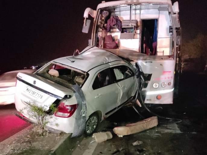 terrible-accident-nagar-aurangabad-highway-five-killed-spot