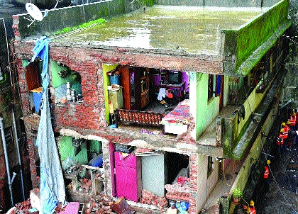 The fate of those displaced by the loss of a home   घर गमावल्याने नशिबी विस्थापितांचे जीणे
