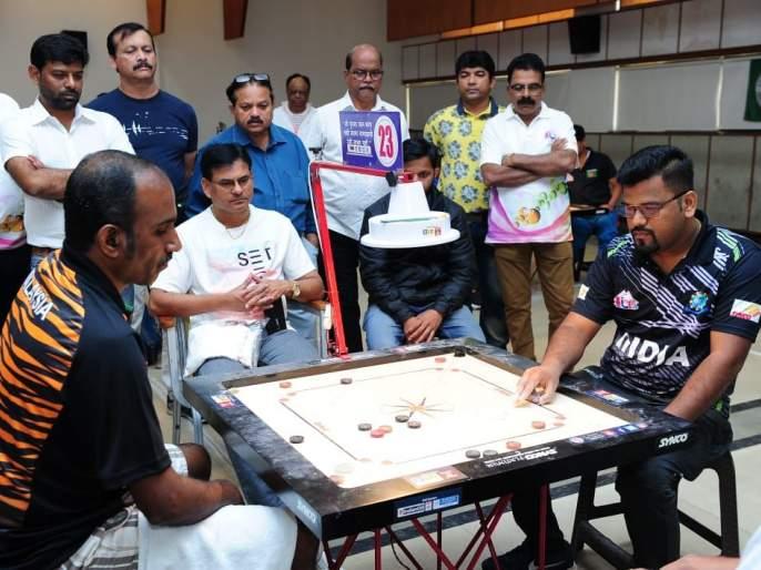 International Carrom: Prashant More, all Indians in semifinal with Apurva!   आंतरराष्ट्रीय कॅरम :प्रशांत मोरे, अपूर्वासह उपांत्यफेरीत सारेच भारतीय !