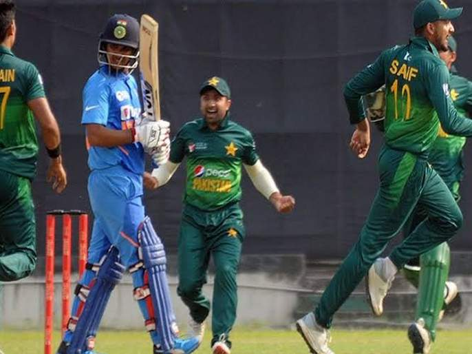 India out of Emerging Cup; Pakistan lost by 5 runs   इमर्जिंग चषकमधून भारत बाहेर;पाकिस्तानकडून ३ धावांनी निसटता पराभव