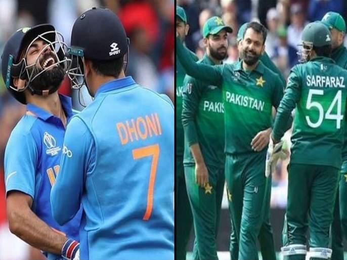 India vs Pakistan World Cup 2019: Team India favorites in betting on 'High Voltage' match! | India Vs Pakistan World Cup 2019: 'हाय व्होल्टेज' लढतीत सट्टेबाजारातहीटीम इंडिया फेव्हरिट!