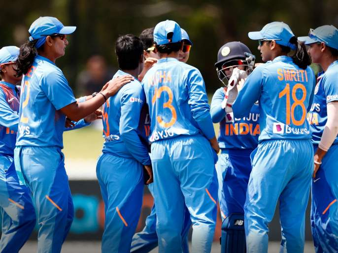 ICC Womens T20 World Cup: India finally get a thrilling victory on the last ball over west indies in ICC Womens T20 World Cup practice match | ICC Womens T20 World Cup : अखेरच्या चेंडूवर मिळवला भारताने थरारक विजय