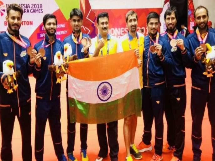 Para Asian Games; India won five medals on the first day | पॅरा आशियाई क्रीडा; पहिल्या दिवशी भारताने जिंकली पाच पदके