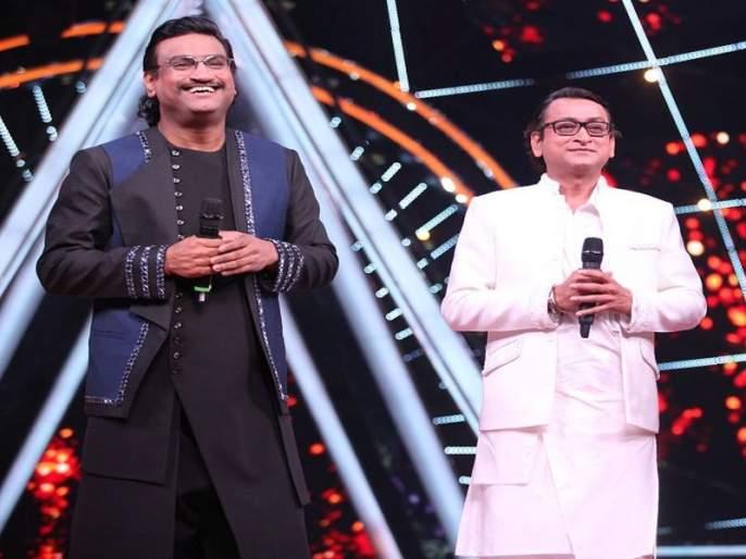 Ajay-Atul was impressed by Indian idol contestant nilanjana | या चिमुरडीच्या गायनाने प्रभावित झाले अजय-अतुल