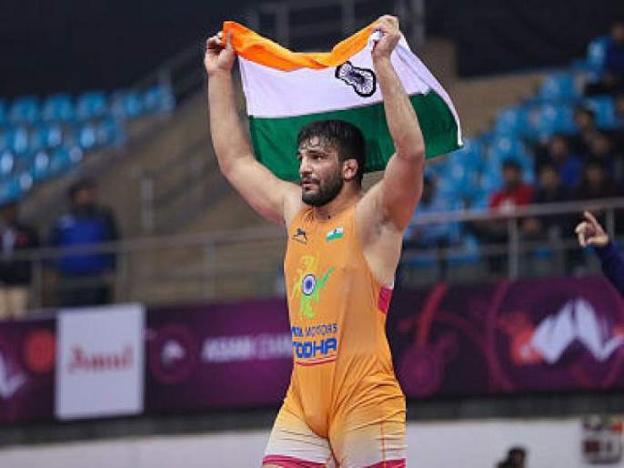 Wrestler Sunil Kumar has won a gold medal in Greco-Roman wrestling | सुनील कुमारने केली 'सुवर्ण' कामगिरी; 27 वर्षांनंतर अखेर संपली भारताची प्रतीक्षा