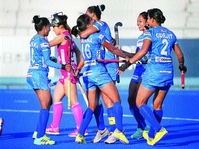 FIH Series Finals: The Indian Women's Hockey Team's Greatest Championship | एफआयएच सिरीज फायनल्स : भारतीय महिला हॉकी संघाचे शानदार जेतेपद