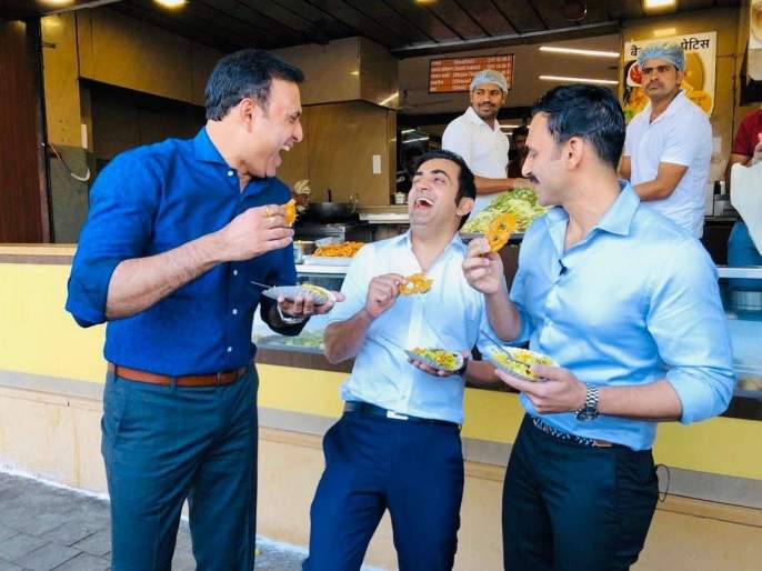Gautam Gambhir eaten indoor's famous Pohe and Jilebi, and fans wound up on social media | गंभीरने इंदूरच्या फेमस पोहे आणि जिलेबीवर मारला ताव आणि चाहत्यांनी केला सोशल मीडियावरून घाव