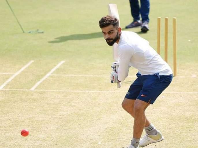 India vs Bangladesh, 1st Test : Virat Kohli hints at the likely bowling combination for Indore Test   India vs Bangladesh, 1st Test : पहिल्या कसोटीची रणनीती ठरली, विराट कोहलीनं Hint दिली