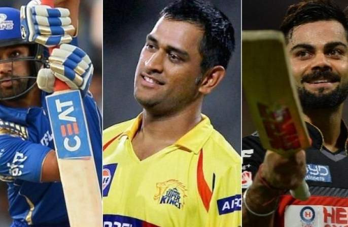 Who got more money in IPL ms Dhoni, Rohit sharma, or virat Kohli | आयपीएलमध्ये कोण ठरला सर्वात मोठा धनी; रोहित, कोहली की धोनी