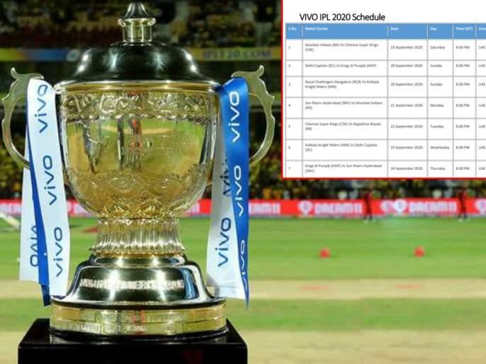 Fake VIVO IPL 2020 Schedule in PDF For Download Goes Viral on WhatsApp   Fact Check : IPL 2020चं वेळापत्रक जाहीर? जाणून घ्या व्हायरल झालेल्या PDFचं सत्य