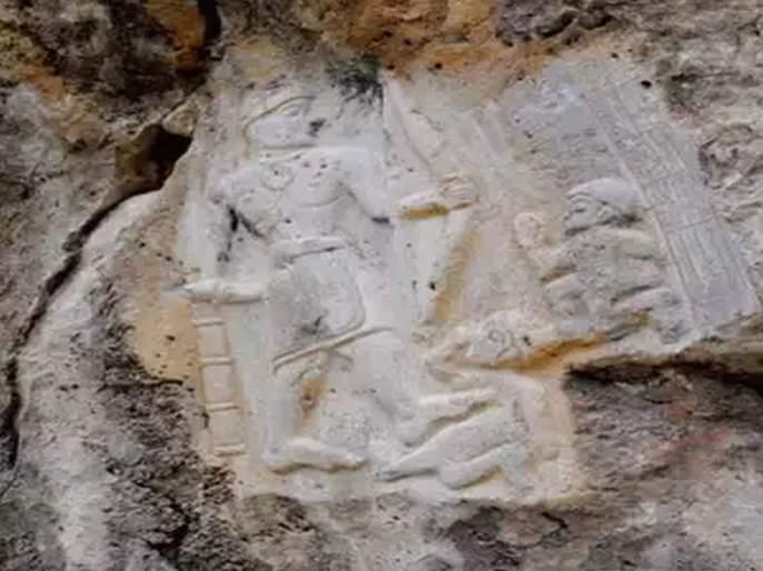 Indian embassy tracks mural in iraq cliff ayodhya sodh sansthan said it is lord ram | इराकमध्येही प्रभू श्रीरामाचं अस्तित्व?; भारतीय संशोधकाचा दावा