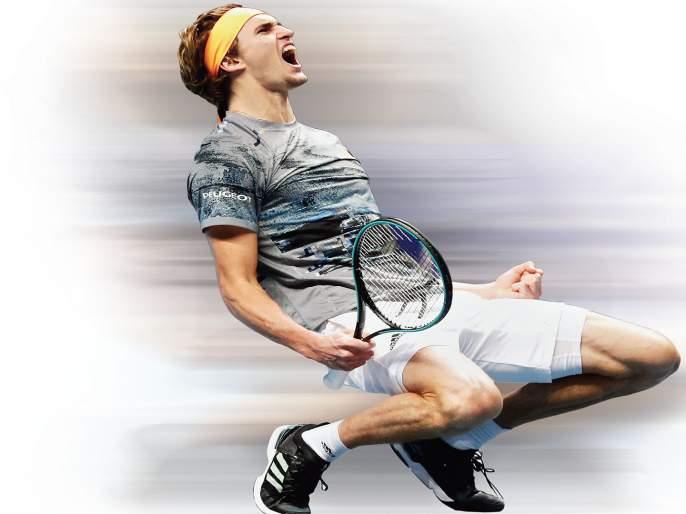 ATP Finals Tennis: Alexander Zverev in the semifinals | एटीपी फायनल्स टेनिस: अलेक्झांडर झ्वेरेव उपांत्य फेरीत