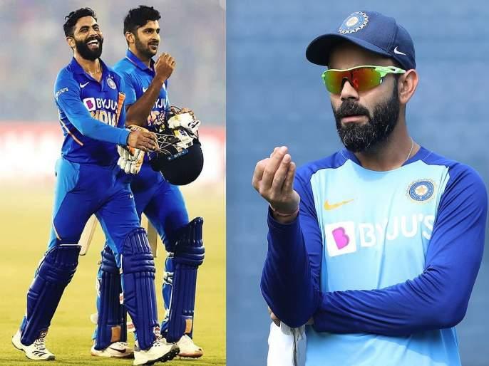 Virat Kohli posts a cheeky tweet for Shardul Thakur following surprising batting masterclass in Cuttack | तुला मानलं रे ठाकूर... विराट कोहलीकडून शार्दूलचे मराठीतून कौतुक