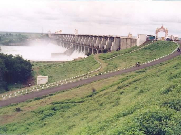 High Alert issued at jaikwadi Dam   जायकवाडी हाय अलर्टवर! पोलिसांचा बंदोबस्त वाढवला