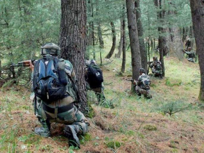 Jammu & Kashmir two terrorist killed in exchange of fire in Pulwama   Jammu And Kashmir : पुलवामा चकमकीत दोन दहशतवाद्यांचा खात्मा