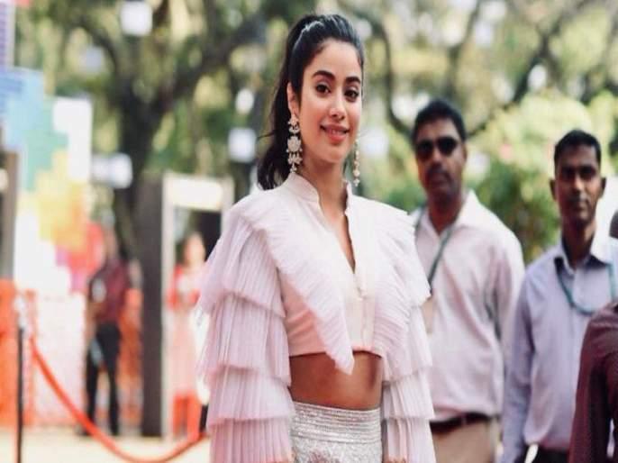 Janhavi Kapoor expressed the desire   जान्हवी कपूरने व्यक्त केली ही इच्छा
