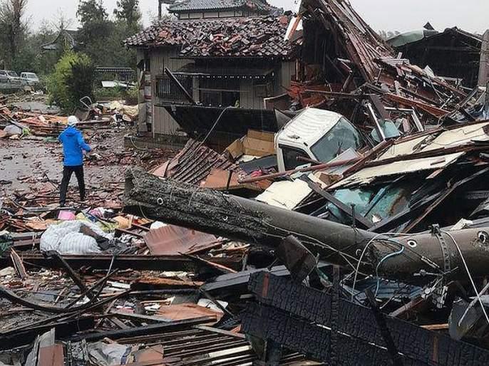 One person dead as Typhoon Hagibis bears down on Japan | जपानला 'हगीबिस' चक्रीवादळाचा तडाखा; 73 लाख नागरिकांचे सुरक्षितस्थळी स्थलांतर